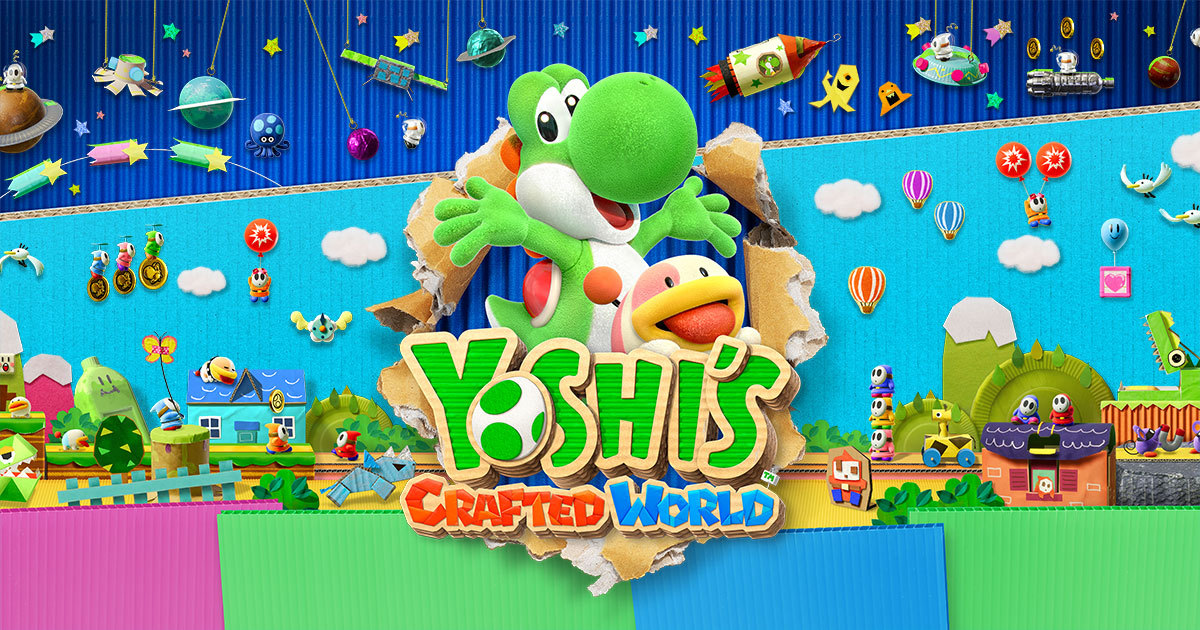 Yoshi's Crafted World™ for the Nintendo Switch™ system