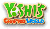 Yoshi's Crafted World game logo.
